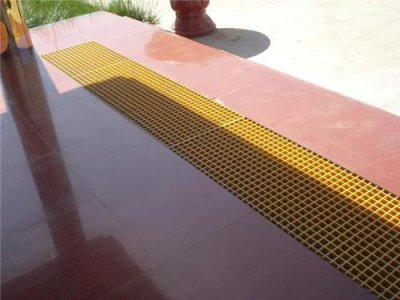 水沟盖板确定成型方法