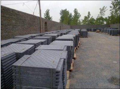 复合电缆沟盖板受污染的处理方法