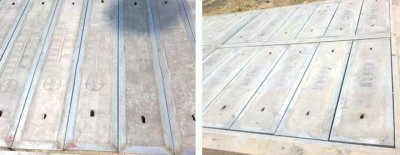 总结复合电缆沟盖板的两种形状
