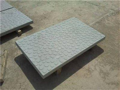 电缆盖板定型的方法